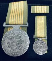 National Emergency Medal Set, FS, Mini, Bar #national#medal#emergencyservices