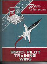 USAF REESE AIR FORCE BASE 3500th PILOT TRAINING WING 1963 YEARBOOK