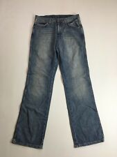 WRANGLER ALASKA 'Straight' Jeans - W32 L34 - Navy Wash - Great Condition