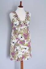 Ann Taylor Loft Silk Cotton Floral Print Sundress, Women's Size 6