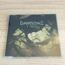 Evanescence _ Missing _ CD Single PROMO _ 2004 Epic _ RARE!