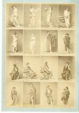 Calavas, Igout, études de nues pour peintre Vintage albumen print  Tirage albu