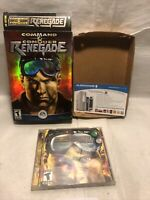 Command & Conquer Renegade PC CD-ROM Game EA Games Westwood Studios W/Box
