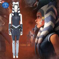 Star Wars: The Clone Wars Cosplay Costume Ahsoka Tano Halloween Costume Outfits