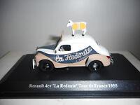 RENAULT 4CV LA REDOUTE LE TOUR DE FRANCE NOREV 510017 1:43