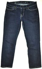 Levi's Capital E Women's Dark Blue Skinny Crop Jeans 27 X 22 3/4 Stretch AWESOME