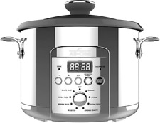 All-Clad 10-Cup Electric Rice and Grain Cooker in Stainless Steel