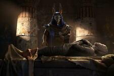 G0055 Anubis Egypt Mummy Laminated Poster FR