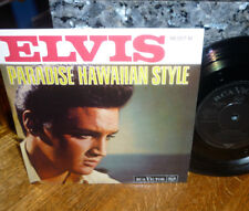 """*<* UNPLAYED MINT ELVIS """"PARADISE HAWAIIAN STYLE"""": UK-only FRENCH EP/PIC COVER!!"""
