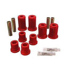 Energy Suspension 3.3147R Control Arm Bushing Set Red - Front