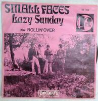 "SMALL FACES 7""-1968-Lazy Sunday/Rollin' over-Immediate-Rudi's Club-IM064-Belgien"