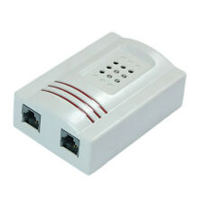 RJ11 Adapter Louder Telephone Ring Flash Amplifier Ringer for Landline WS Y3S4
