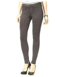 Hue Graphite Wash Original Jean Leggings Size LARGE NWT Store Return