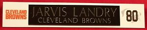 JARVIS LANDRY  CLEVELAND BROWNS  NAMEPLATE