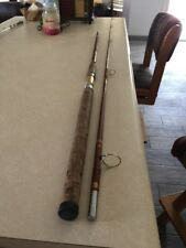 Vintage Horrocks Ibbotson Utica Fishing Rod 9' Cork Handle no.1332