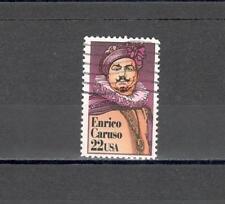 USA 1698 - ENRICO CARUSO 1986 - MAZZETTA DI  15 - VEDI FOTO