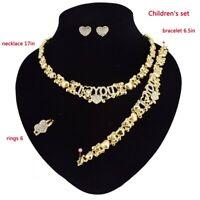 #43 HUGS & KISSES children xo set Gold Filled Kids Set