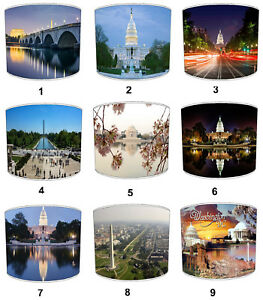 City Of Washington DC Lampshades, Ideal To Match Washington DC Cushions & Covers