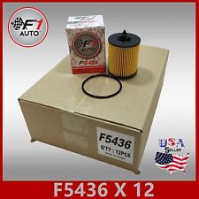 1CASE OF 12PCS F5436 CHEVY SATURN OIL FILTER REPLACEMENT KIT 2.0L 2.2L 2.4L