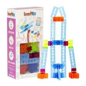 28pc Brackitz Inventor Set: Fun Educational STEM Learning Teaching Kids at Home