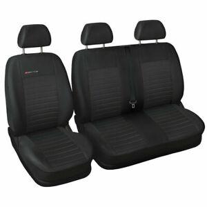 Van seat covers fit Volkswagen Transporter T5 grey P4
