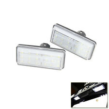 White Led Number License Plate Light Lamp For Toyota J100 J120 J200 Land Cruiser