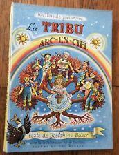 ENVOI dédicace JOSEPHINE BAKER Piet Worm LA TRIBU ARC-EN-CIEL inscribed SIGNED!