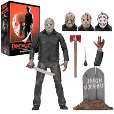 TV Horror Friday the 13th Part 5 - Jason Voorhees NECA K.O Action Figure PVC Toy
