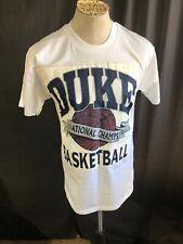 1992 DUKE UNIVERSITY BLUE DEVILS BASKETBALL CHAMPIONS SIZE LARGE VINTAGE T SHIRT