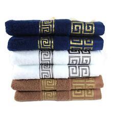 100% COTTON MENS SOFT PLAIN TOWELS FACE TOWEL HAND BATH TOWEL LARGE BATH SHEET
