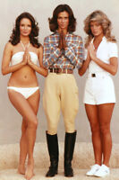CHARLIE'S ANGELS KATE JACKSON JACLYN SMITH FARRAH FAWCETT ICONIC 24X36 POSTER