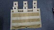 Eagle Allied Industries SFLCS Khaki Triple Mag Shingle 1x3 Pouch MLCS