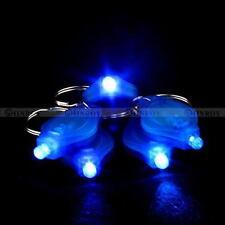 Mini Portable EDC Micro LED Keychain Key Ring Flash Chic Bright Flashlight