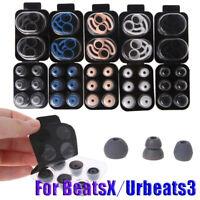 Antislip Ear Hook Silicone Eartips Earflap Earbuds For BeatsX Urbeats 3