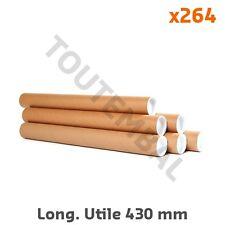 Tube carton d'expédition Ø int. 60 mm Long. Utile 430 mm (par 264)