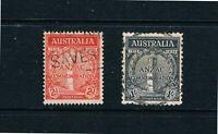 Australia - 1935 Anzacs' Landing at Gallipoli - SC 150-151 [SG 154-155] USED 21