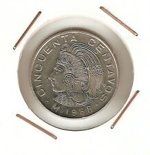 Mexico: 50 Centavos 1968 UNC