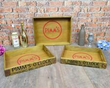 Set of 3 Small Pimms Trays