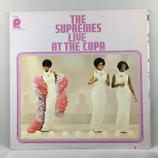 The Supremes – Live At The Copa Orig Press Used LP VG+ SPC 3541