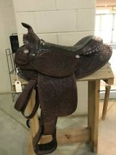 """Used The American 15"""" Western Saddle"""