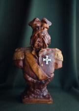 """Carved sculpture """"Dog-General"""""""