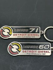 Detroit Diesel (60 and 71 Series) Keychains. Get Both. (i5-i6)