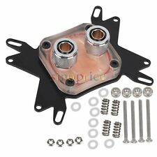 Universal CPU Liquid Water Cooling Block Copper Base for AMD Intel Processor