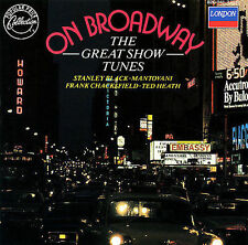 On Broadway: The Great Show Tunes by VA (CD, London) Mantovani/Stanley Black....