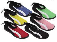 Womens Slip on Water Shoes/Aqua Socks/Pool Yoga Dance Exercise,Colors,Size 5-11