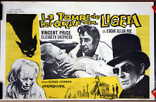 Vincent Price : R Corman : The Tomb Of Ligeia : POSTER
