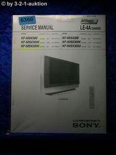 Sony service manual KF 50sx300/K/u/60sx300/K/u projection tv (#6360)