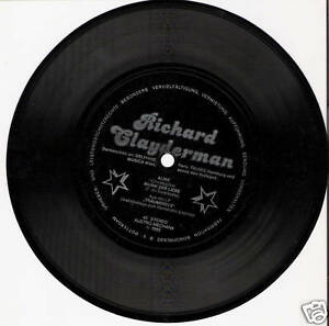 Single / RICHARD CLAYDERMAN / SELTEN /