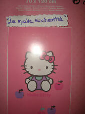 SERVIETTE DRAP DE BAIN HELLO KITTY 70X120 CM BICOLORE