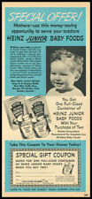 1951 vintage ad for Heinz Baby Foods